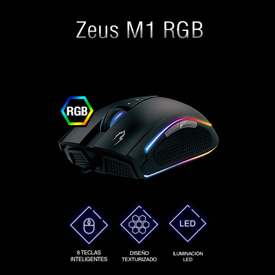 Ratón gaming Gamdias Zeus M1