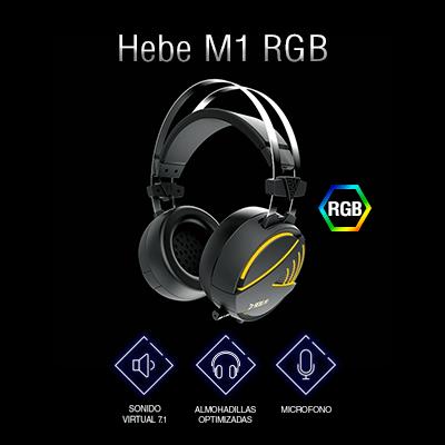 Auriculares gaming Gamdias Hebe M1 RGB