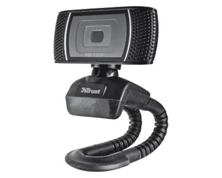 WEBCAM HD VIDEO 720P TRINO BLACK TRUST
