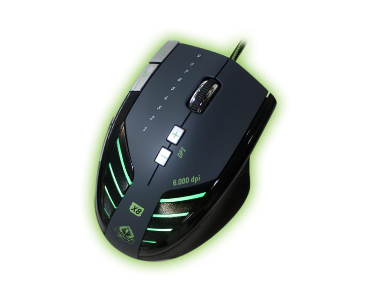 KEEPOUT GAMING LASER MOUSE X8