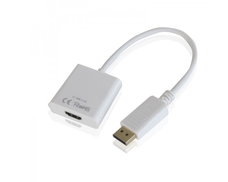 ADAPTADOR DISPLAYPORT A HDMI APPROX