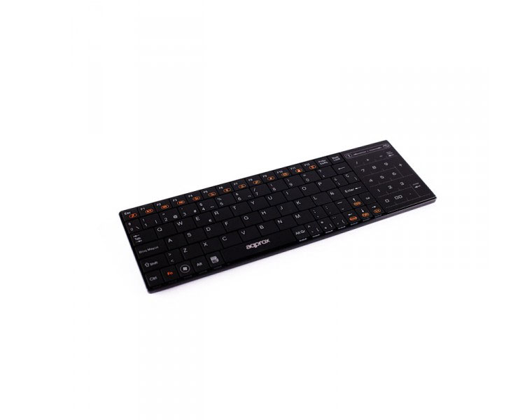 TECLADO WIRELESS SMART TV + TOUCHPAD APPROX