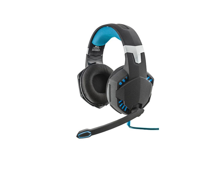 AURICULAR GAMING GXT363 7.1 USB BLACK TRUST