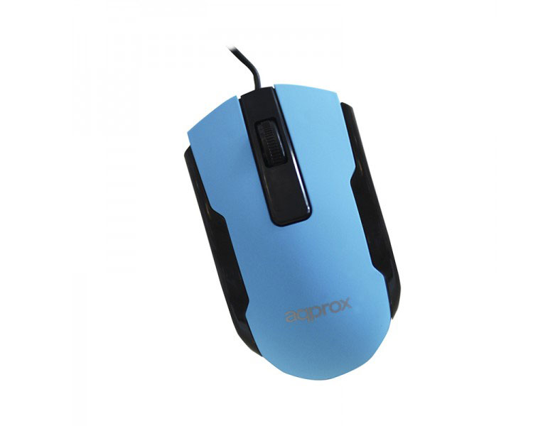 MOUSE OPTICO OFFICE BLUE APPROX