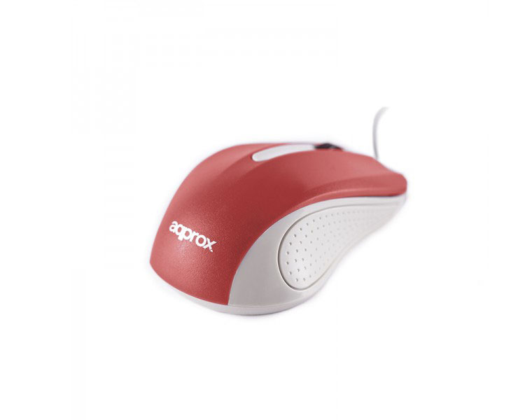 MOUSE OPTICO LITE RED APPROX