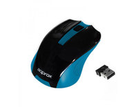 MOUSE OPTICO WIRELESS BLACK/BLUE APPROX