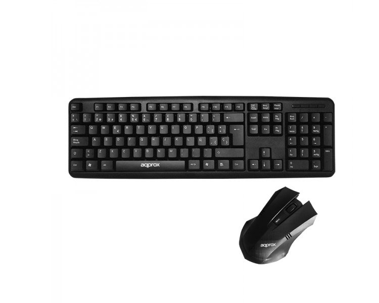 WIRED DESKSET ECO BLACK APPROX