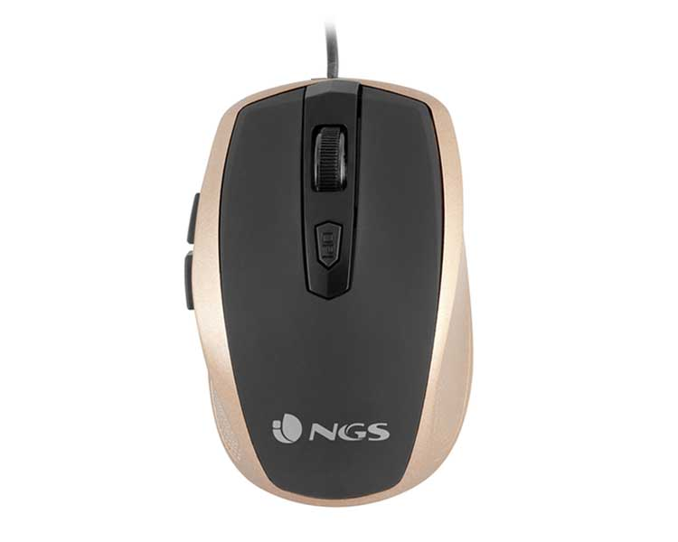 MOUSE OPTICAL GOLD TICK NGS