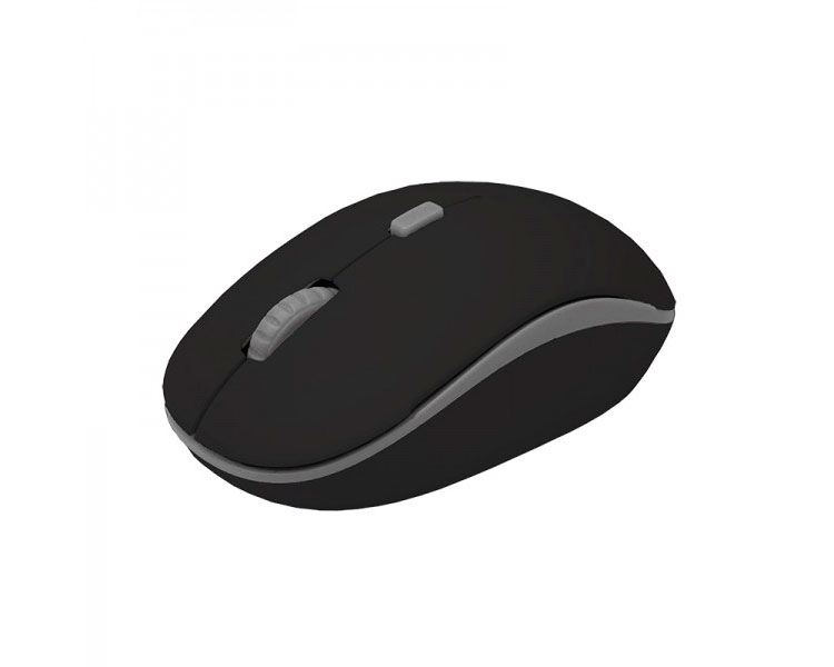 MOUSE OPTICAL WIRELESS BLACK/GREY APPROX