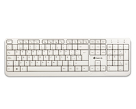 TECLADO CON CABLE SPIKE WHITE NGS
