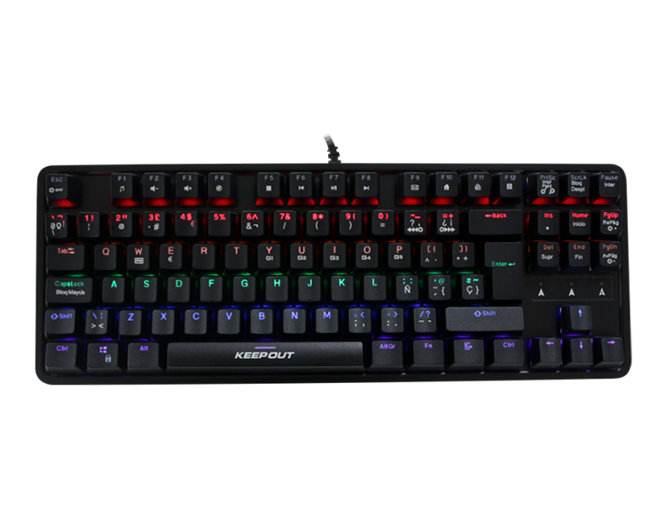 KEEPOUT GAMING RGB MECHANICAL KEYBOARD F105
