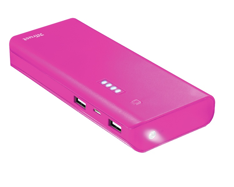 POWER BANK PRIMO 10000mAh PINK TRUST