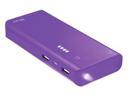 POWER BANK PRIMO 10000mAh PURPLE TRUST