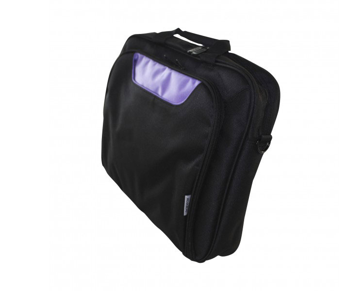 MALETIN MULTI POCKET 15.6´´ BLACK/PURPLE APPROX