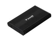CAJA EXTERNA USB 2.5'' SATA 2.0 BLACK TOOQ
