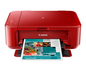 CANON PIXMA MG3650 RED WIFI