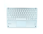 TECLADO SMART BACKLIT TOUCHPAD BLUETOOTH SILVER SUBBLIM
