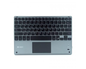 TECLADO SMART BACKLIT TOUCHPAD BLUETOOTH GREY SUBBLIM
