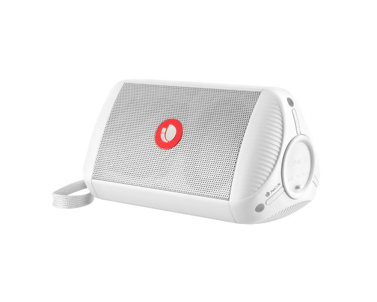 ALTAVOZ BLUETOOTH ROLLER RIDE WHITE NGS