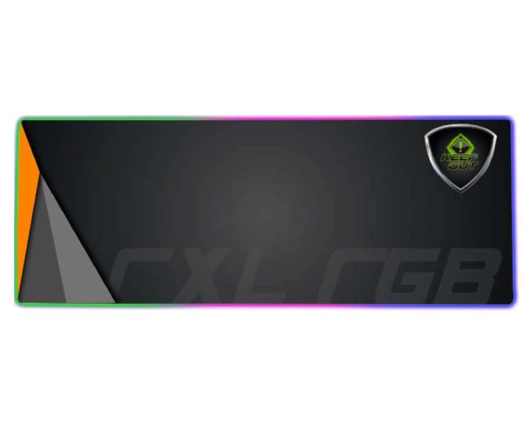KEEPOUT ALFOMBRILLA GAMING RGB 880x300