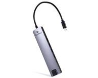 MINI DOCK USB-C (3xUSB3.0/HDMI/ETHERNET/MICRO SD) COOLBOX