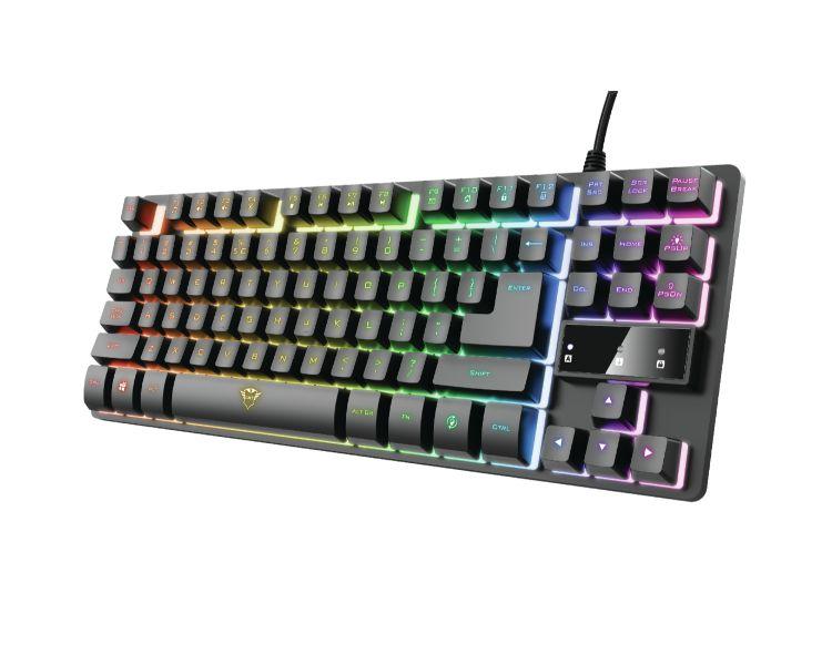 TECLADO GAMING THADO RGB GXT 833 TRUST