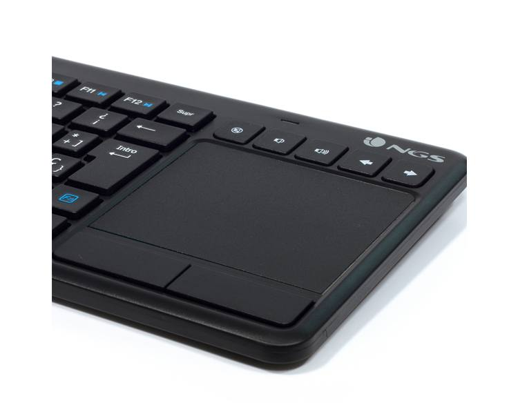 TECLADO WIRELESS TV WARRIOR NGS