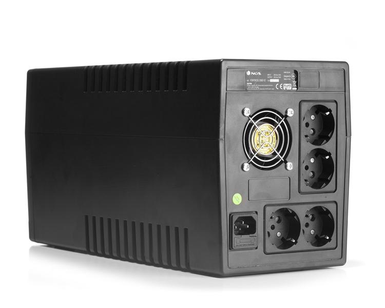 S.A.I. FORTRESS 2000 V2 (1500 VA) NGS