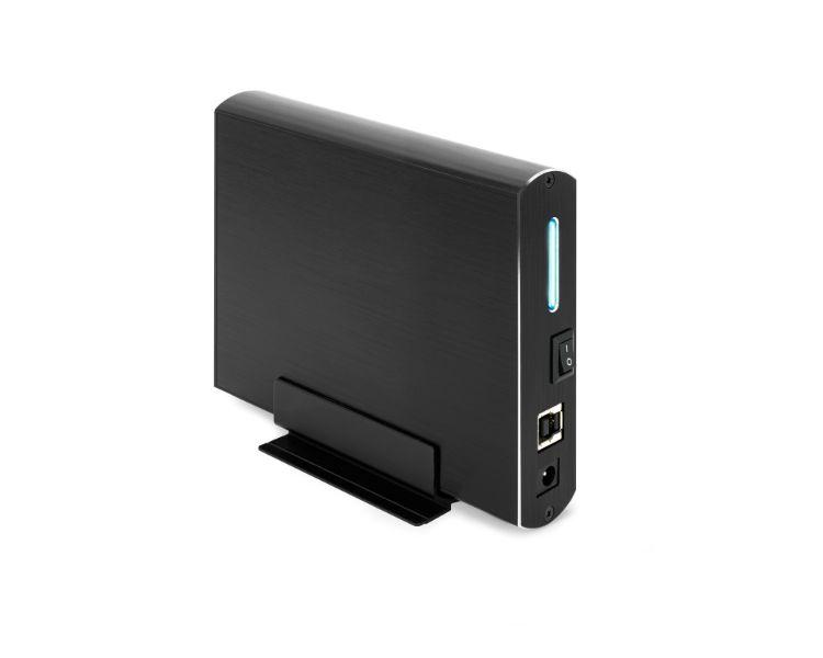 CAJA EXTERNA USB 3.5'' SATA 3.0 BLACK TOOQ