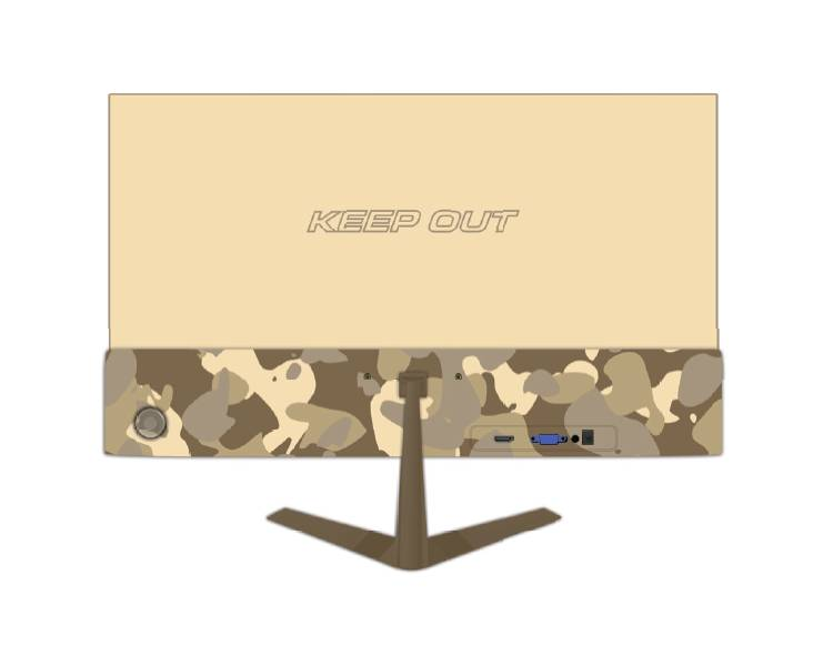 "MONITOR GAMING XGM24 ARMY 24"" MM KEEPOUT"