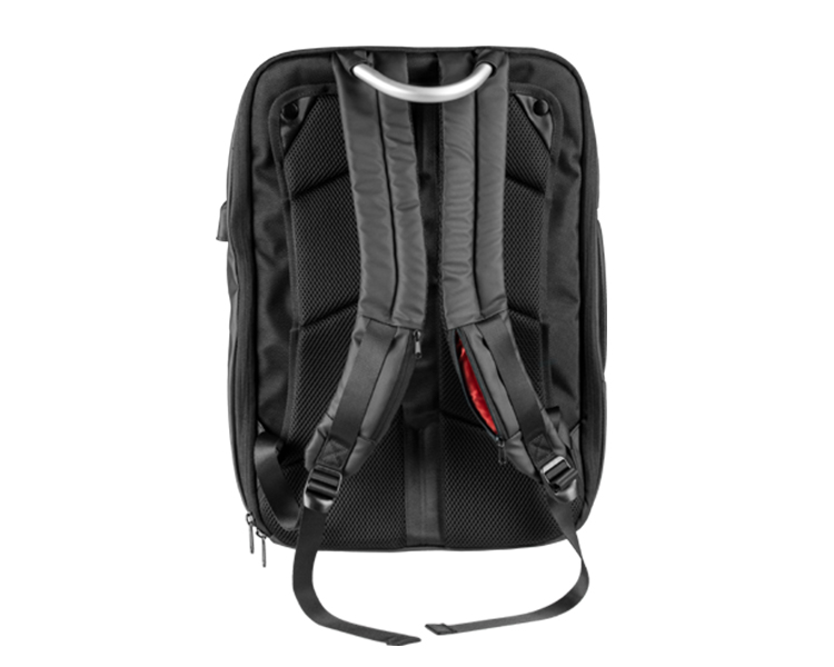 "MOCHILA/MALETIN 17.3"" MARS GAMING BLACK/RED"