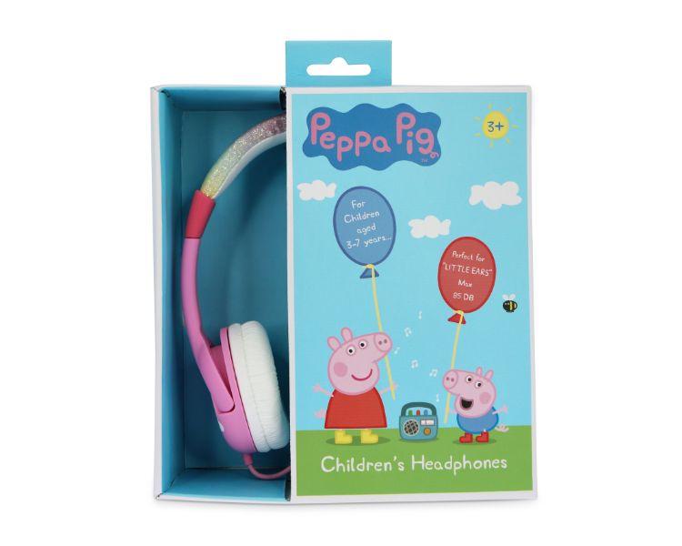 AURICULAR INFANTIL PEPPA PIG RAINBOW